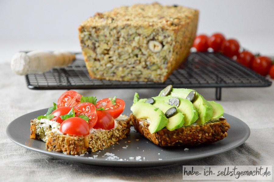 Brotzeit Ideen - Low Carb Brot
