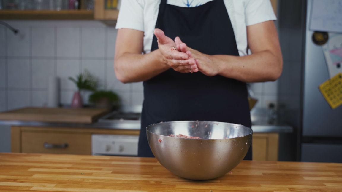 Breakfast Sausage selber machen - Probe Patty