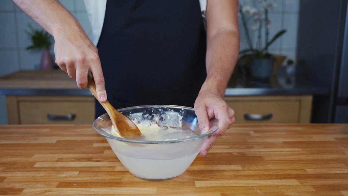 Butter selber machen - Butter waschen