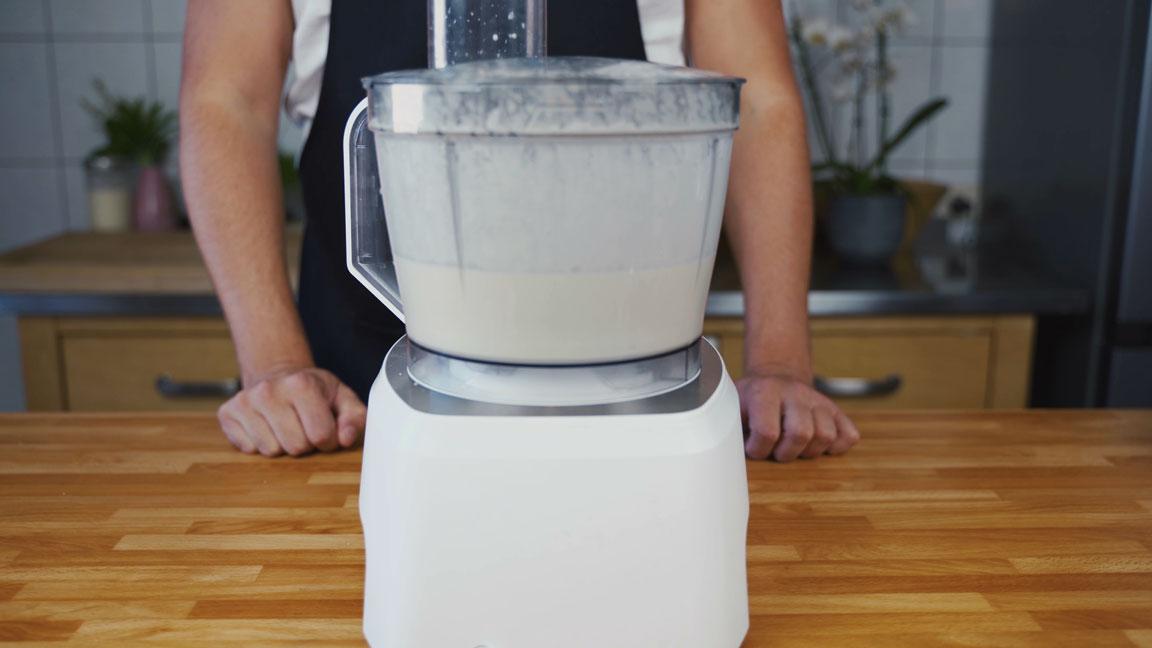Butter selber machen - Küchenmaschine