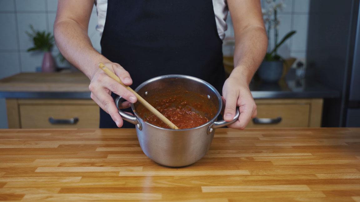 Ketchup selber machen - einkochen