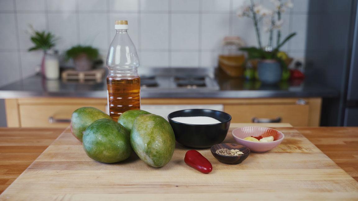 Mango Chutney - alle Zutaten