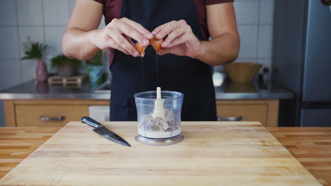 Pate de Campagne - Küchenmaschine