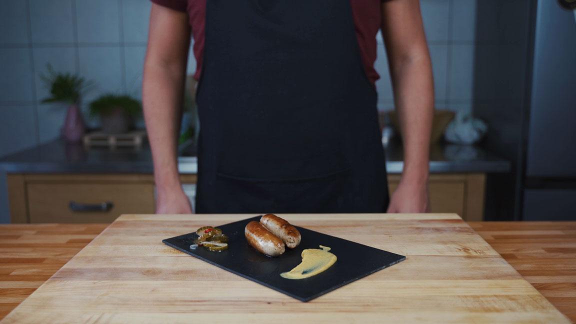Thüringer Bratwurst - fertige Bratwurst