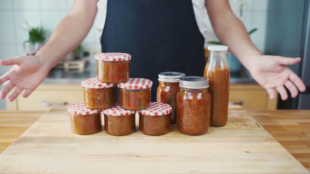 Tomaten Chutney - fertig