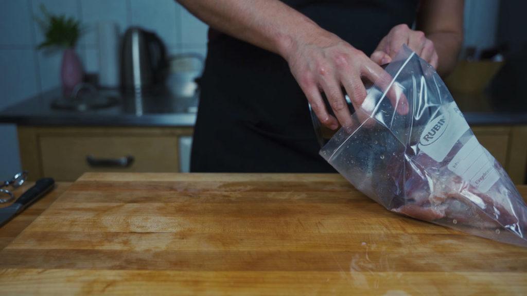 Kochschinken selber machen _ Tüte