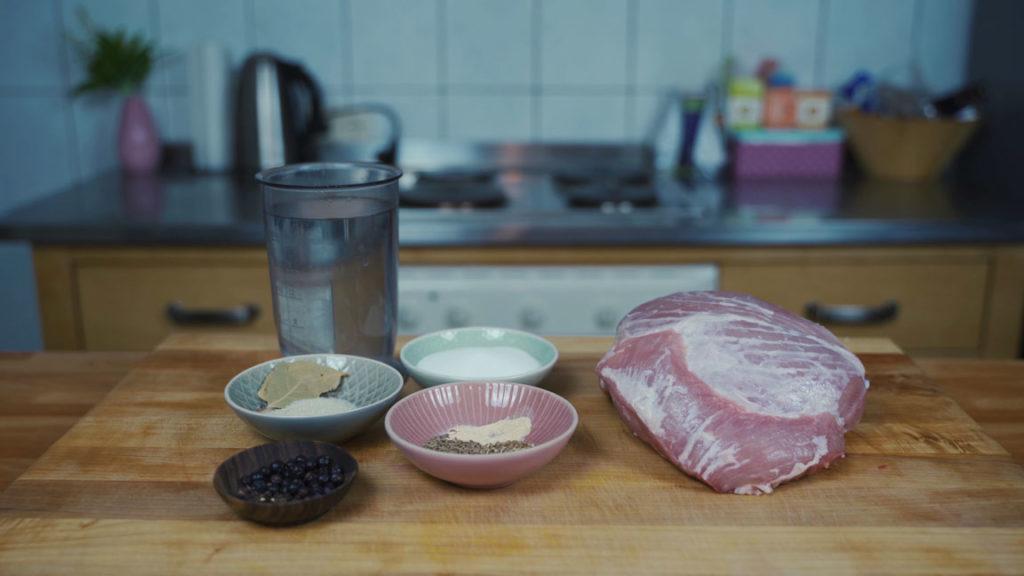 Kochschinken selber machen - Zutaten
