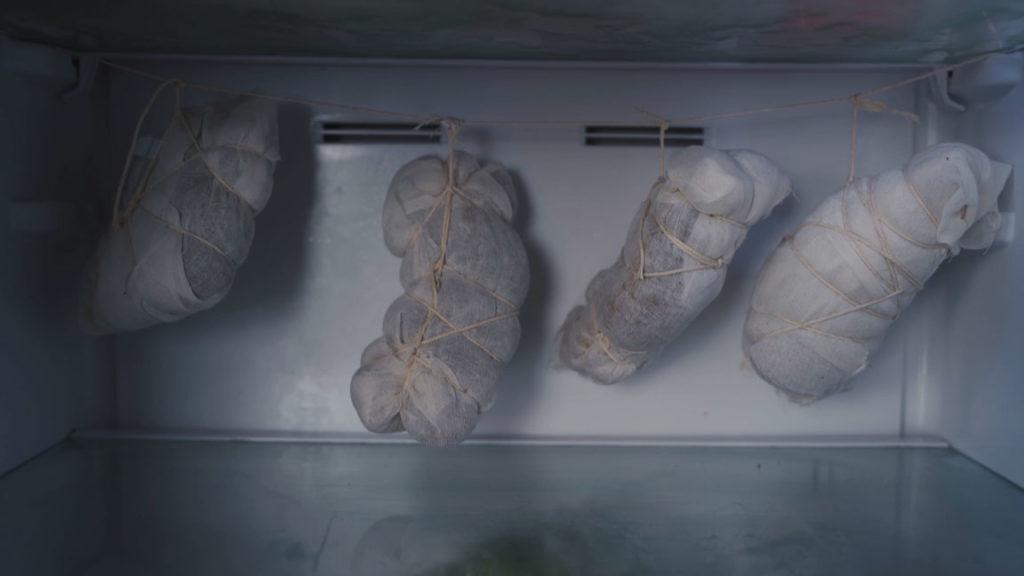 Guanciale - Kühlschrank hängen