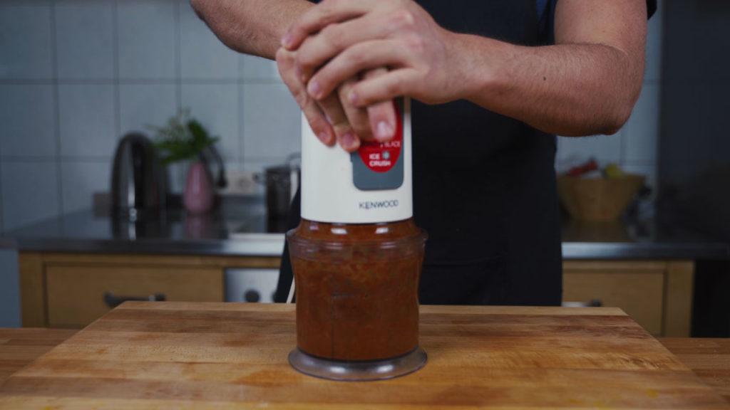 Tomatenaufstrich - mixen