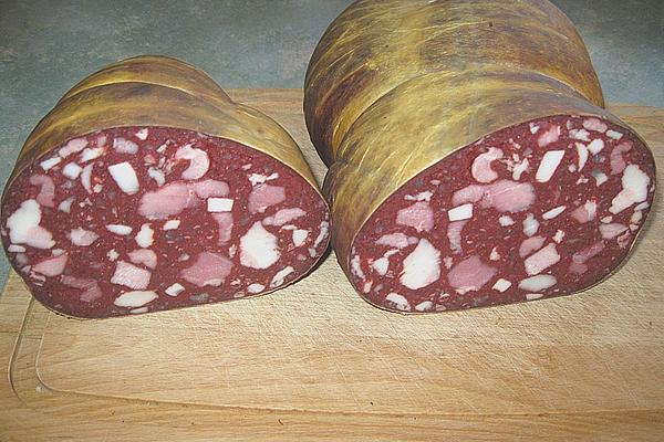 Wurstrezepte - Blutwurst