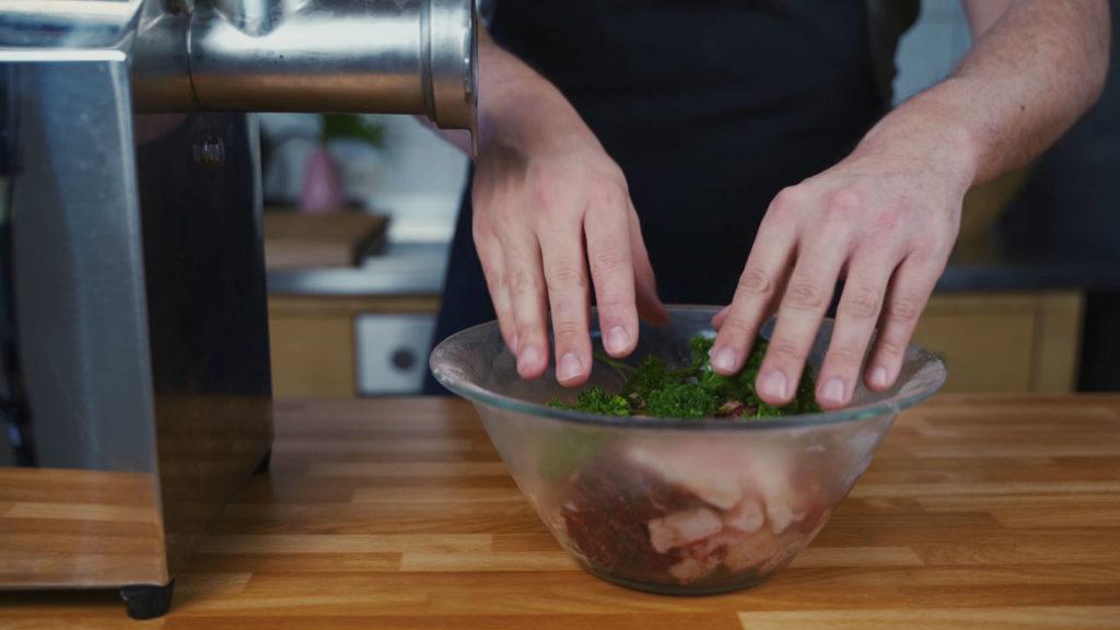 Gelbwurst - Petersilie