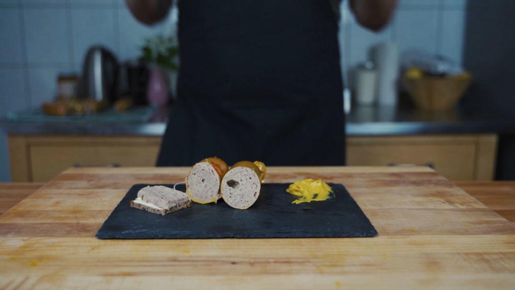 Gelbwurst - fertige Gelbwurst