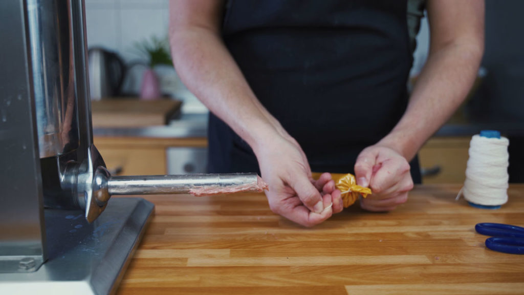 Gelbwurst - Knoten