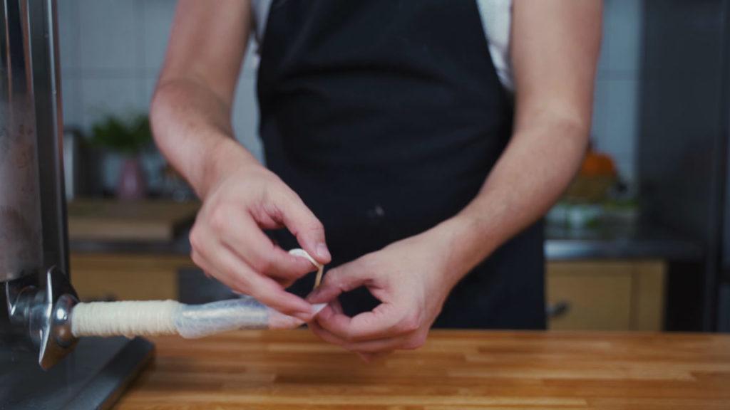 Weißwurst - Knoten