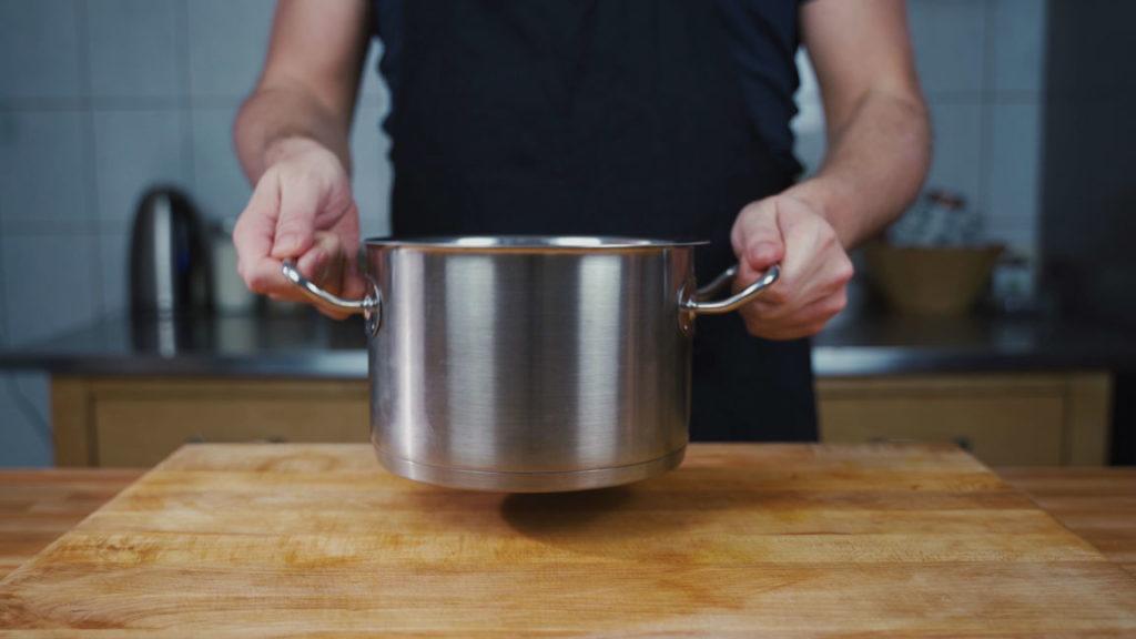 Zwiebelwurst - kochen