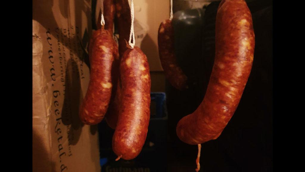 Chorizo - Umrötung