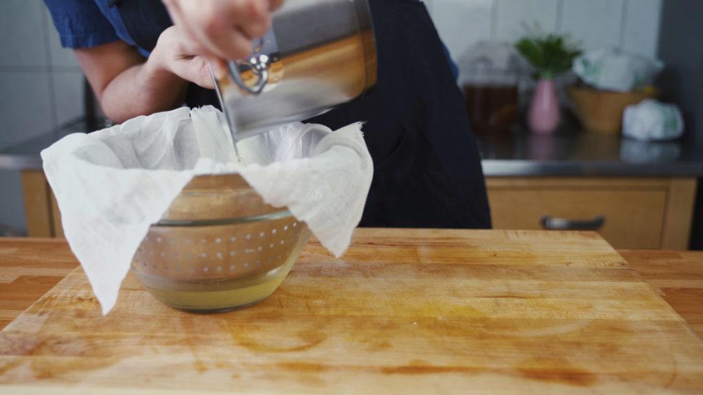 Griebenschmalz - Käsetuch