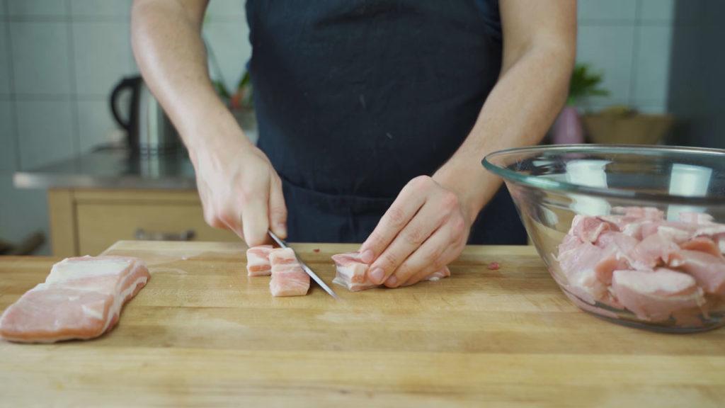 Salsiccia selber machen - wolfgerechte Stücke