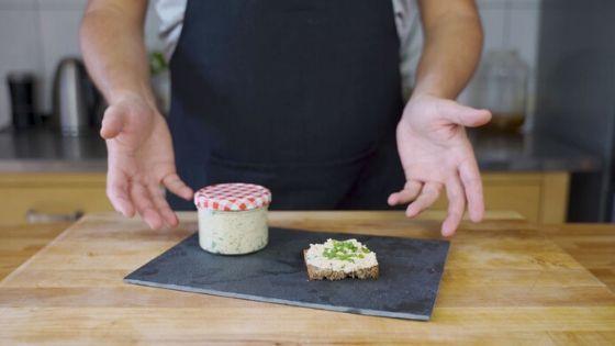 Blogbanner Tofu-Kräuter-Aufstrich