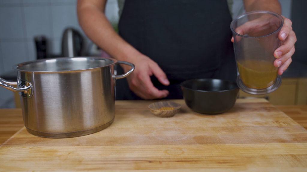 Linsenaufstrich -  Linsen kochen
