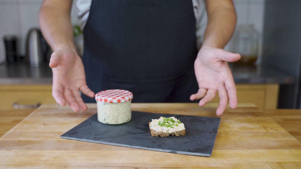 Tofu-kräuter-Aufstrich- fertiger Aufstrich