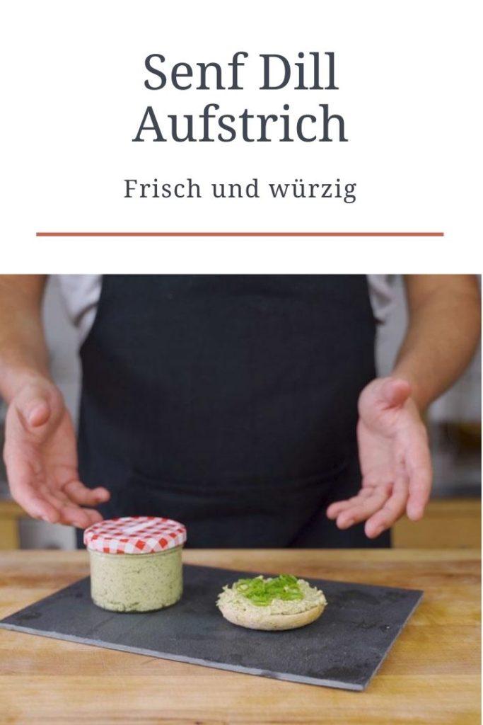 Senf Dill Aufstrich - pinterest