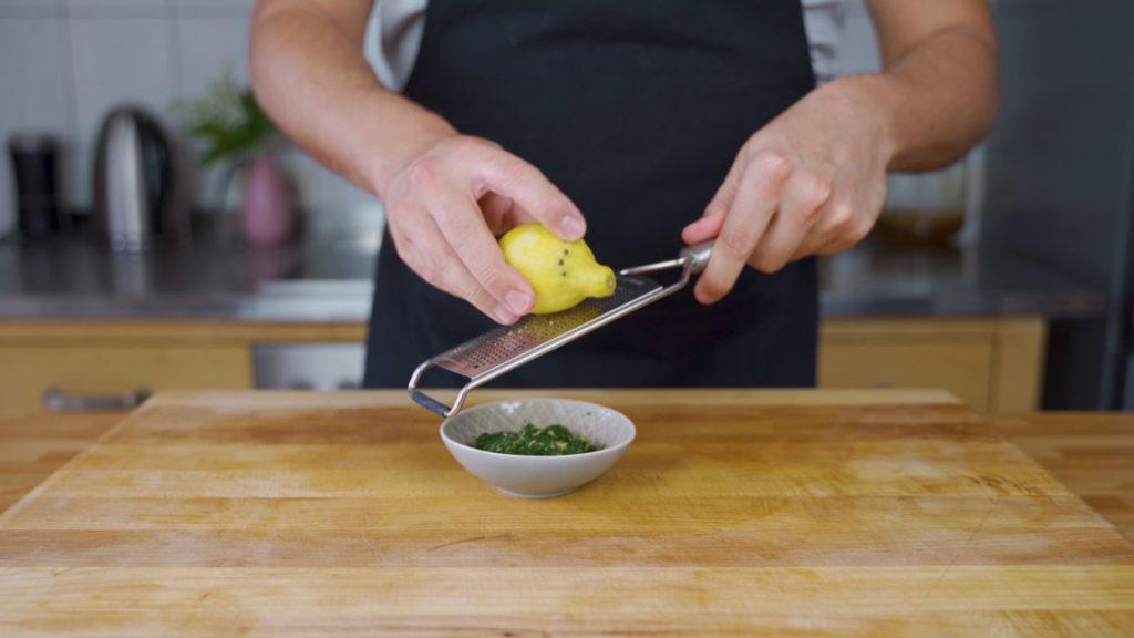 Senf Dill Aufstrich - Zitrone