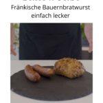 Geräucherte Bratwurst