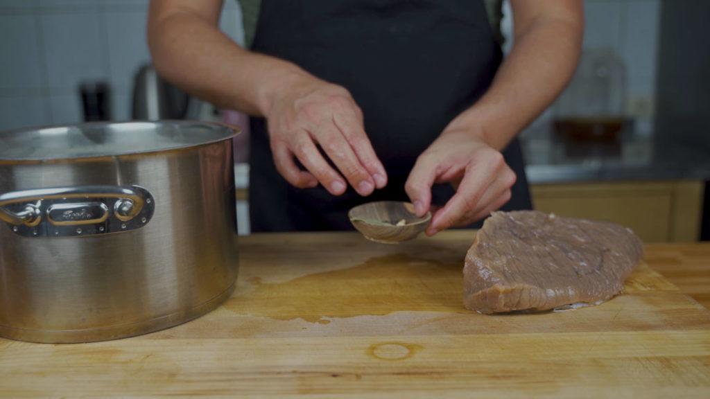 Corned Beef - Gewürze Topf