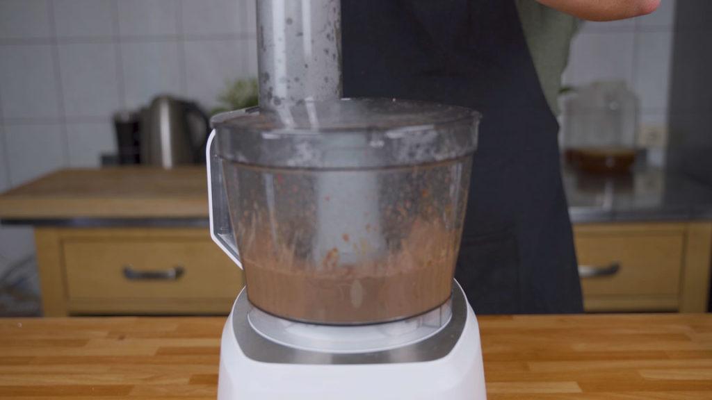 Leberpastete- mixen
