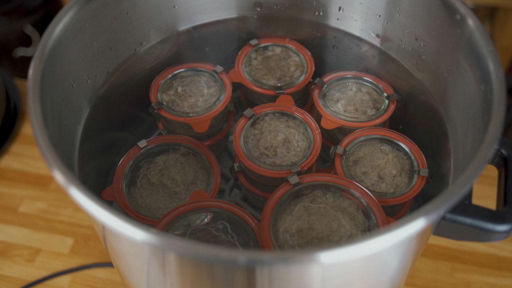 Bierschinken-einkochen