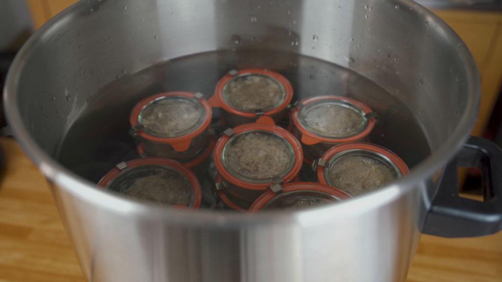 Schinkenwurst - einkochen