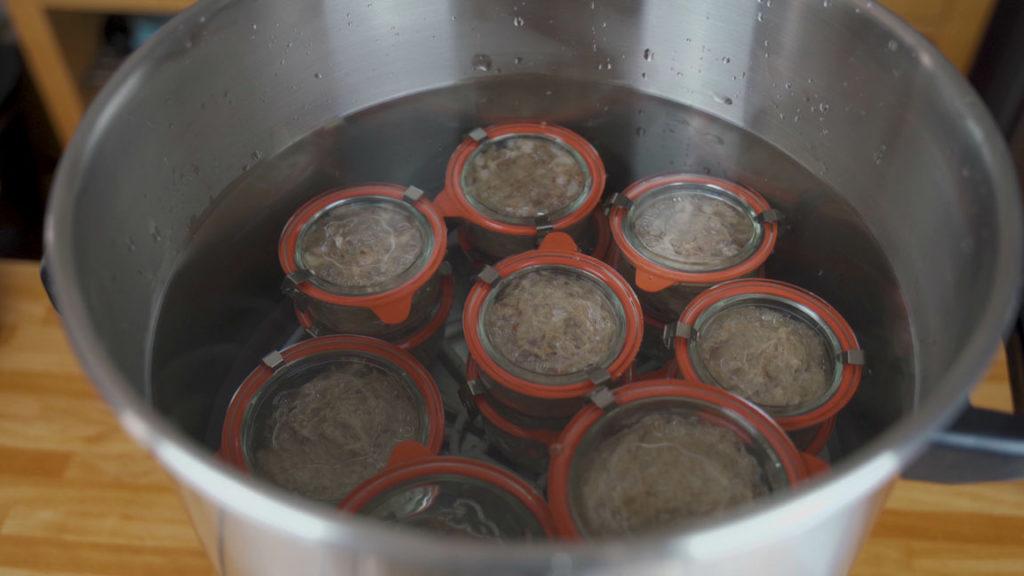 Schmalzfleisch-einkochen