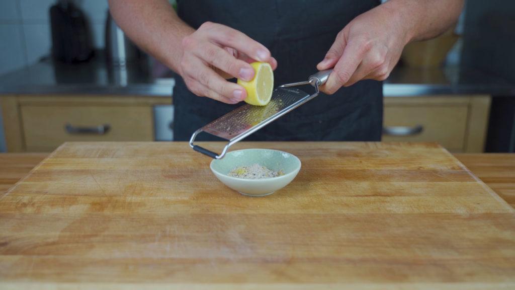 Coburger Bratwurst -Zitrone