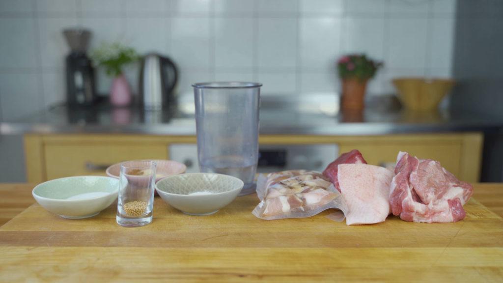 Jagdwurst-alle Zutaten