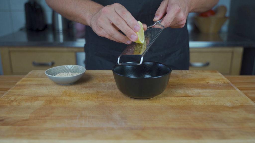 Schlesische Weißwurst-Zitrone