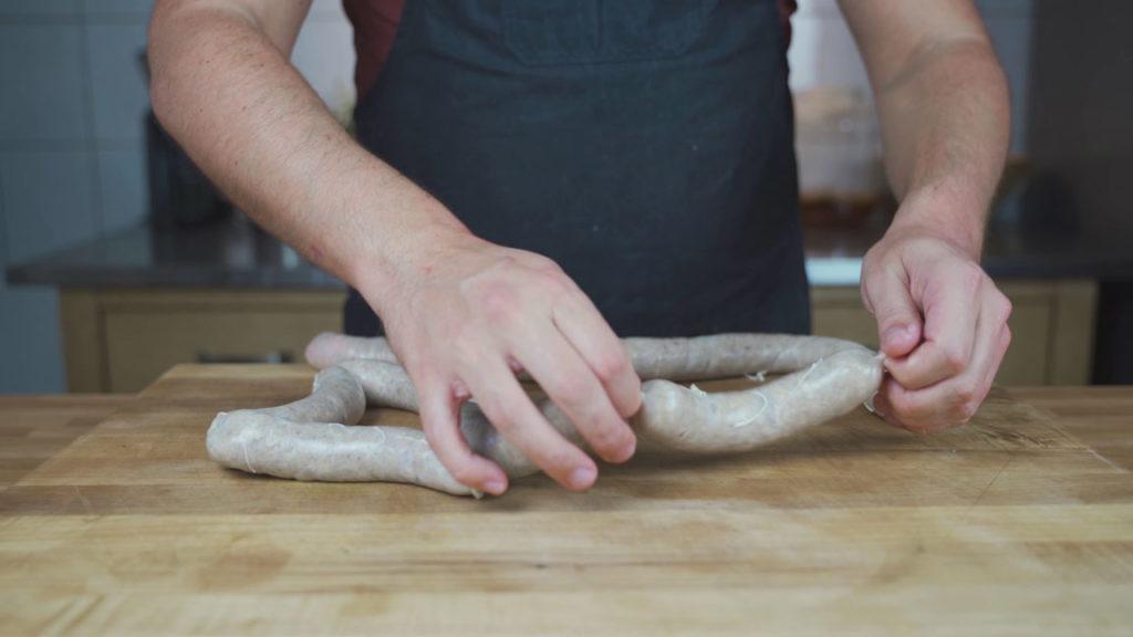 Kartoffelwurst-abdrehen