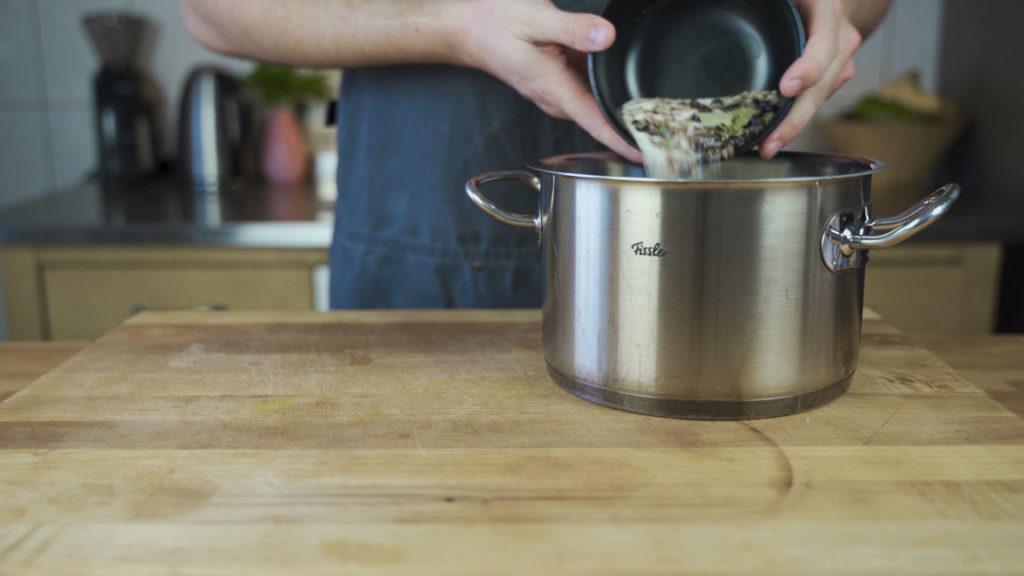 Rinderkochschinken-aufkochen