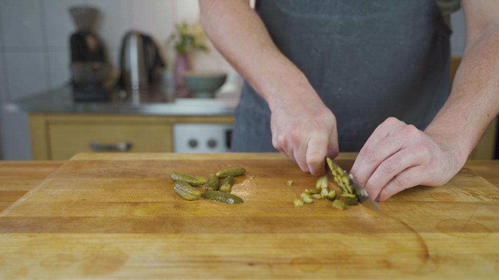 Fleischsalat-Gewürzgurken