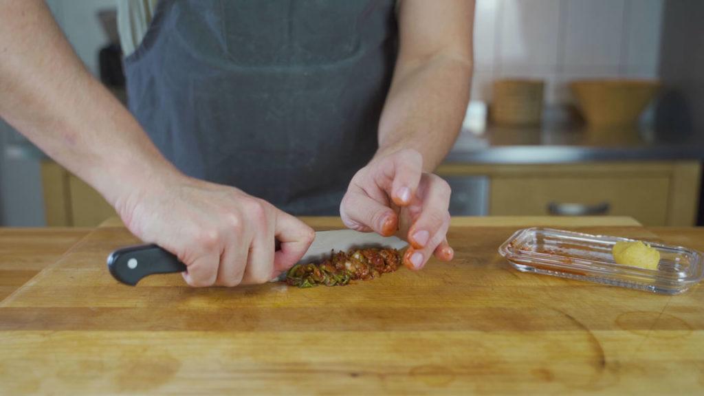 Fleischsalat-kimchi
