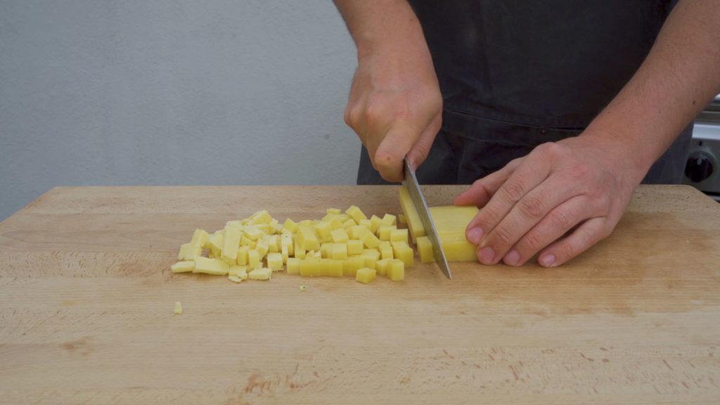 Käsebratwurst-Käse