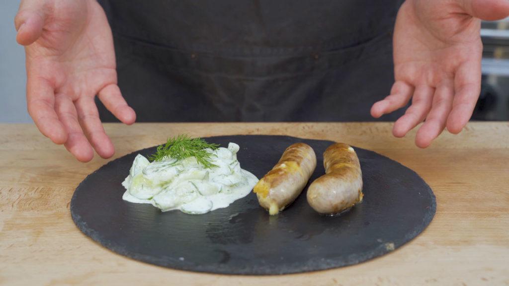 Käsebratwurst-fertig