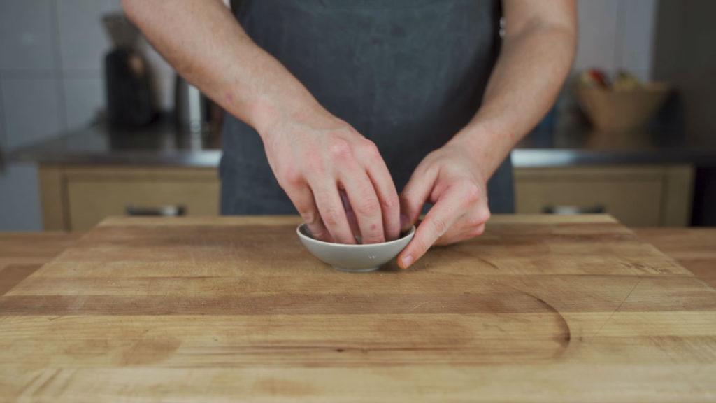 Pancetta-vermengen